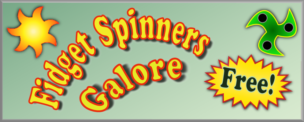 Fidget Spinners Galore Logo